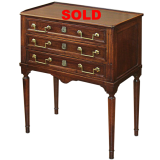 19th Century Louie XVI style Mahogany Commodes