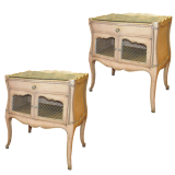 Vintage French Bedside Commodes